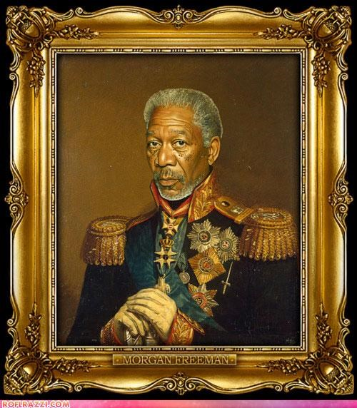 Historical Portraits Of Famous Celebrities