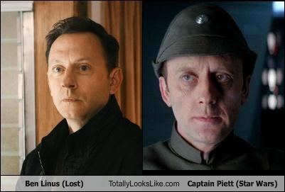 Ben Linus (Lost) Totally Looks Like Captain Piett (Star Wars)