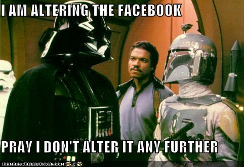I Am Altering The Facebook...