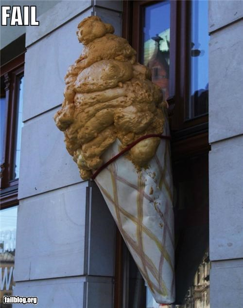 Appetizing Ice Cream Ad FAIL