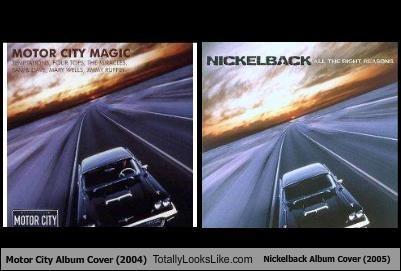 TLL Classics: Motor City Album Cover (2004) Totally Looks Like Nickelback Album Cover (2005)