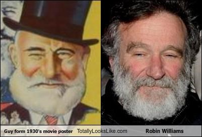 Guy From 1930's Movie Poster Totally Looks Like Robin Williams