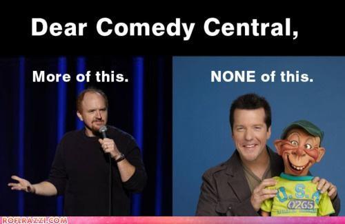 celeb,comedian,funny,jeff dunham,louis ck