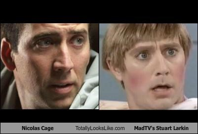 Nicolas Cage Totally Looks Like MadTV's Stuart Larkin