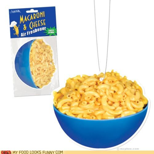 air freshener,cheese,macaroni and cheese,scented