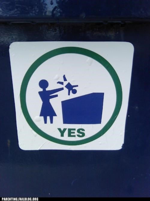 dumping,dumpsters,oh the humanity,signs
