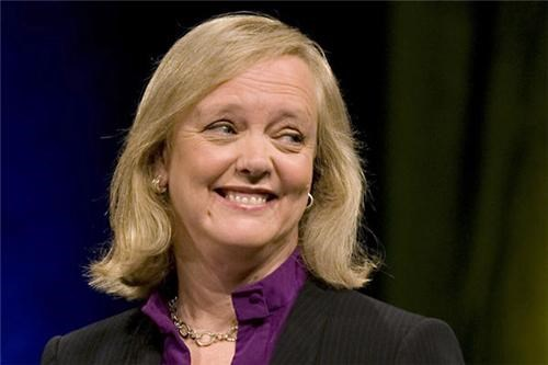 Meg Whitman Becomes HP CEO of the Day
