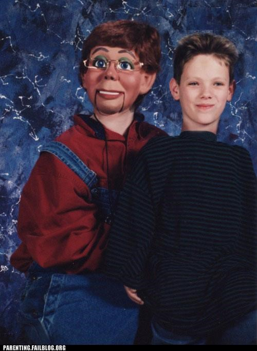 dummy,school picture,so awkward,ventriloquist