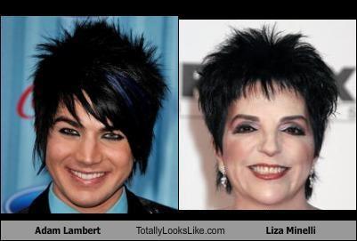 TLL Classics: Adam Lambert Totally Looks Like Liza Minelli