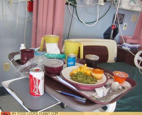 beer,doctors,hospital,meal,prescription