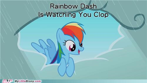 Rainbow Dash Clop http://cheezburger.com/5232328960