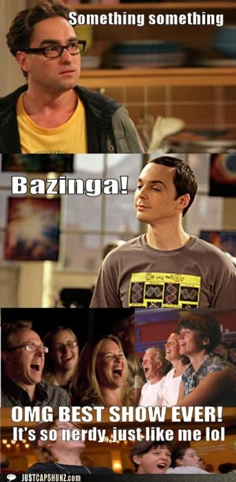 """The Big Bang Theory"" Summed Up in Three Panels"