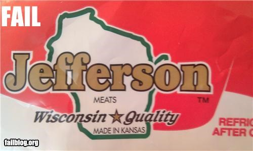 failboat,food,geography,g rated,made in,wisconsin