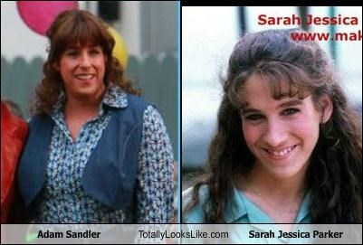 Adam Sandler Totally Looks Like Sarah Jessica Parker
