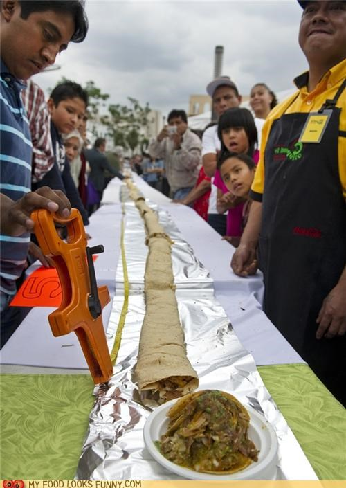 guinness,longest,Mexican,taco,world record