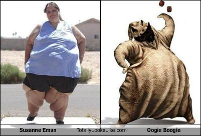 Susanne Eman Totally Looks Like Oogie Boogie