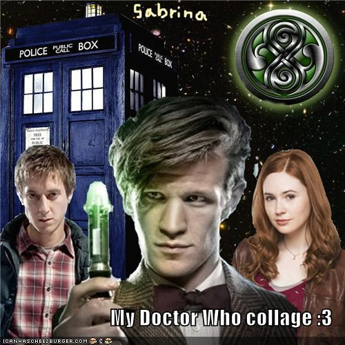 My Doctor Who collage :3