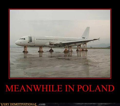 air plane,hilarious,no wheels,poland