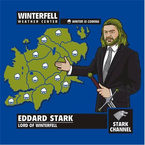Winterfell Shirt of the Day
