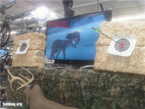 Hunting Display FAIL