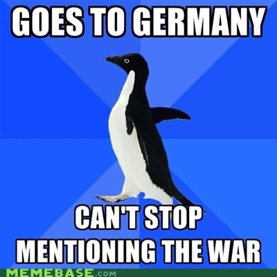Socially Awkward Penguin: Godwin's Law in Action