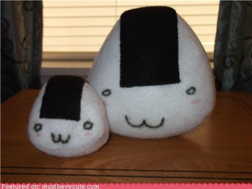 cute,friends,kawaii,Plushie,rice ball
