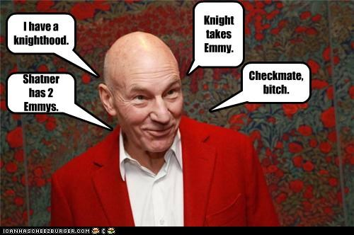 Sir Patrick Stewart Explains Chess.