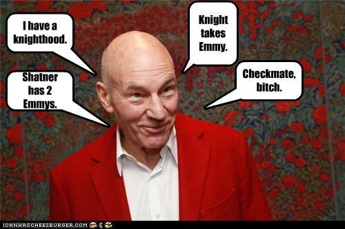 Sir Patrick Stewart Explains Chess.