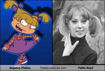 Angelica Pickles Totally Looks Like Pattie Boyd