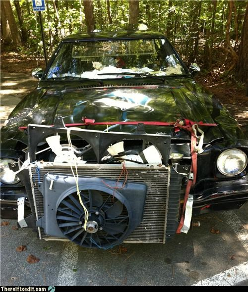 cars,mechanic,radiator,wtf