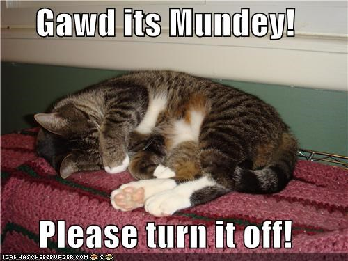 Gawd its Mundey!  Please turn it off!