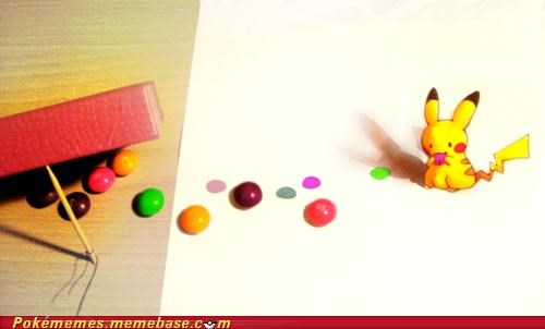 art,awesome,bait,candy,catching,its a trap,pikachu