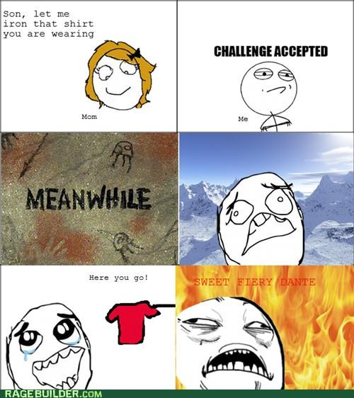 awesome,best of week,ironing,mom,Rage Comics,warm