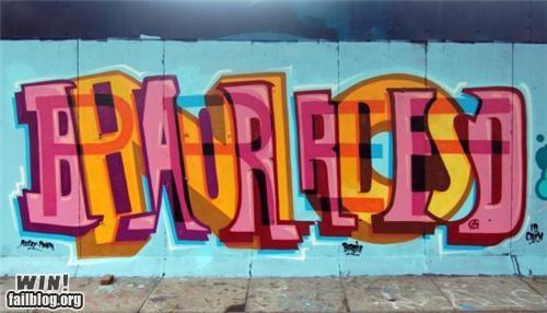 graffiti,hacked irl,illusion,layers,Street Art,text,typography,words
