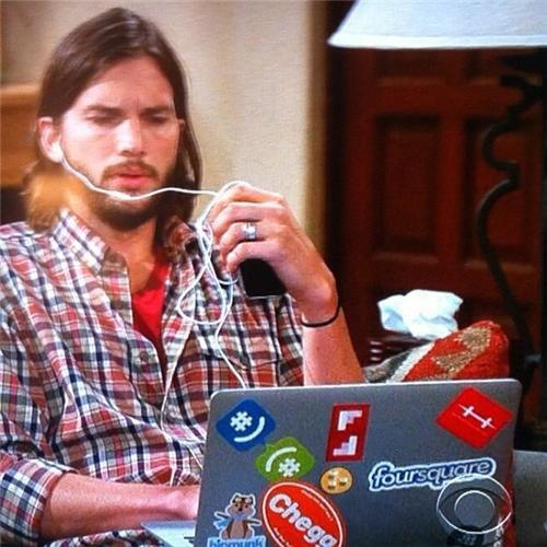 Follow Up of the Day: Ashton Kutcher's Laptop Banned by CBS