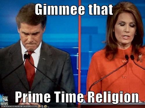 Gimmee that       Prime Time Religion