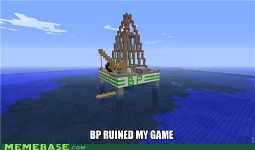 BP: They even ruin Minecraft
