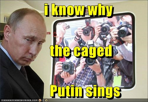 i know why                  the caged                  Putin sings