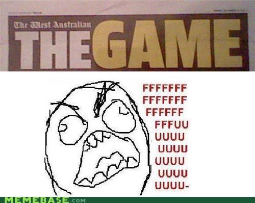 australia,news,paper,Rage Comics,the game