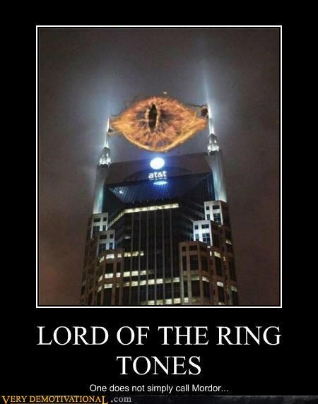 LORD OF THE RING TONES