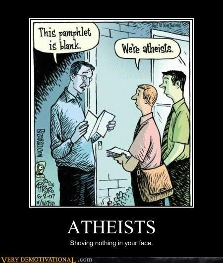 atheists,hilarious,pamphlet,religion
