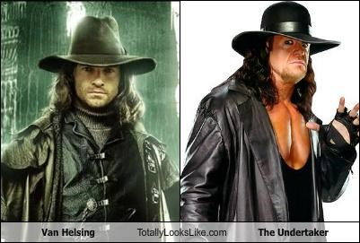 Van Helsing Totally Looks Like The Undertaker