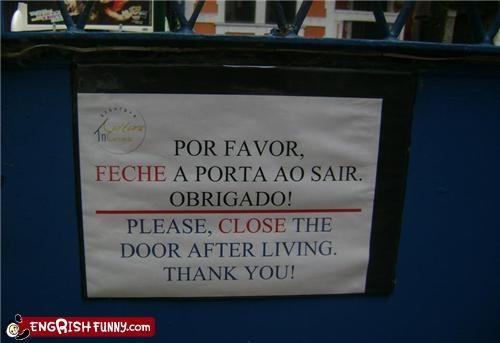Death,door,morbid,notice,sign