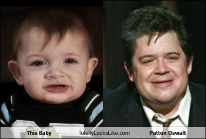 This Baby Totally Looks Like Patton Oswalt