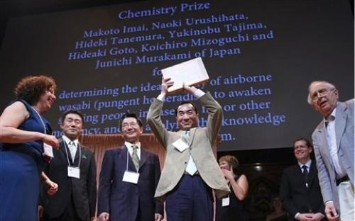 Ig Nobel Prize Winners of the Day