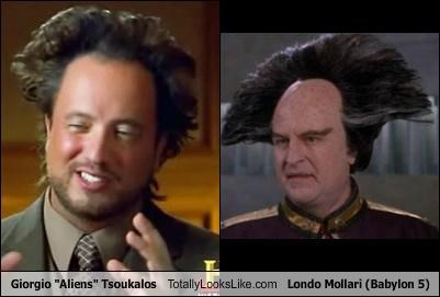 "Giorgio ""Aliens"" Tsoukalos Totally Looks Like Londo Mollari (Babylon 5)"