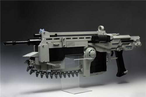 Lego Gears of War Rifle of the Day