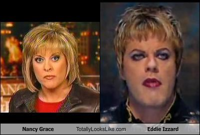 Nancy Grace Totally Looks Like Eddie Izzard