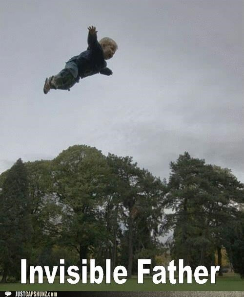 air,Babies,dads,fathers,invisible,jumping,kids,whee