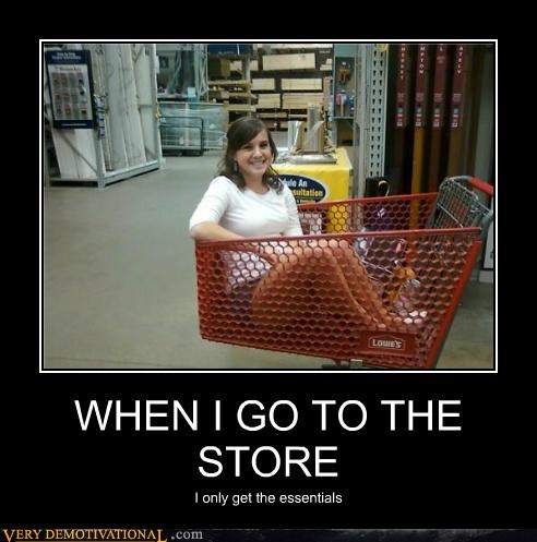 WHEN I GO TO THE STORE